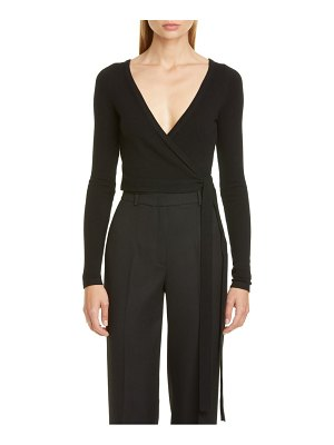 Michael Kors cashmere wrap top