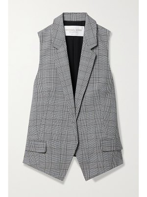 Michael Kors Collection antibes checked wool vest