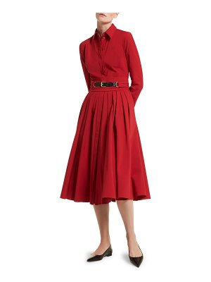 Michael Kors Collection belted shirtdress