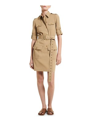 Michael Kors Collection belted utility shirtdress