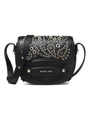 Michael Kors Collection carysm leather saddle crossbody bag