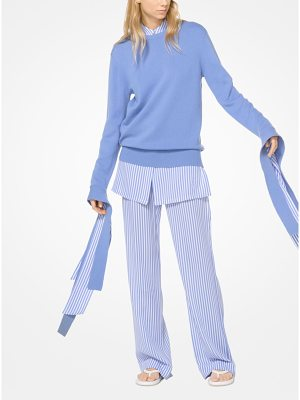 Michael Kors Collection Cashmere Streamer Pullover