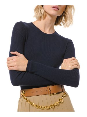 Michael Kors Collection Crewneck Featherweight Cashmere Sweater