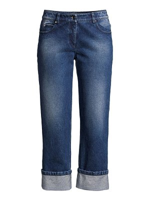 Michael Kors Collection cropped cuff jeans