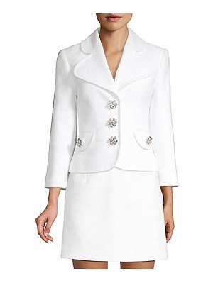 Michael Kors Collection cropped peacoat jacket