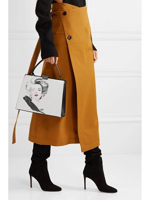 Michael Kors Collection david downton brooke printed leather tote
