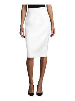 Michael Kors Collection double crepe skirt