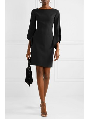 Michael Kors Collection draped wool-blend mini dress