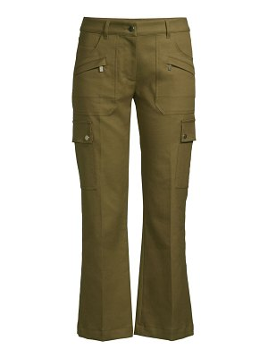 Michael Kors Collection flared cropped cargo pants