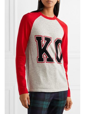 Michael Kors Collection intarsia cashmere sweater
