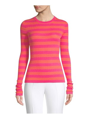 Michael Kors Collection long sleeve striped sweater