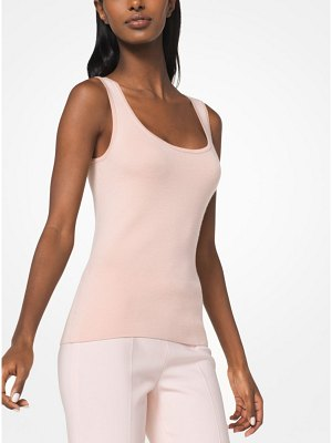 Michael Kors Collection Merino Wool-Blend Tank
