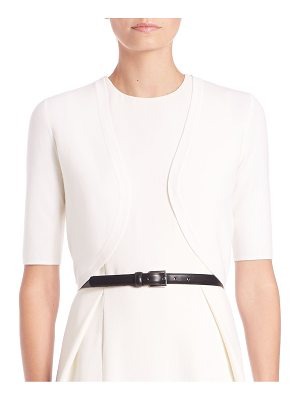 Michael Kors Collection merino wool cropped shrug