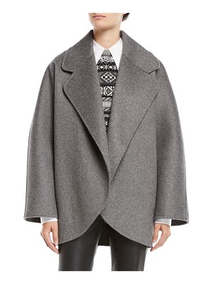 Michael Kors Collection Oversized Wool Jacket