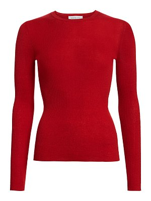 Michael Kors Collection ribbed cashmere knit crewneck sweater