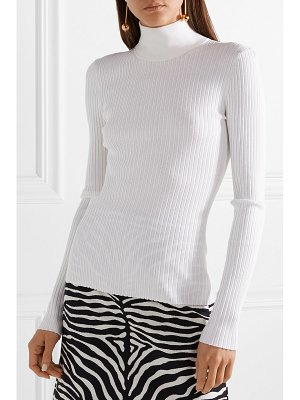 Michael Kors Collection ribbed stretch-knit turtleneck sweater