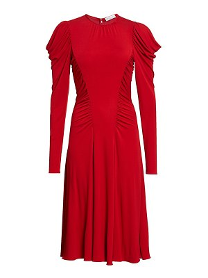 Michael Kors Collection ruched midi dress