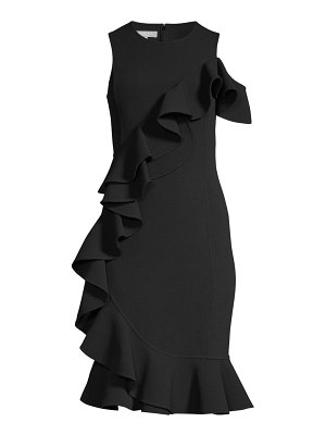 Michael Kors Collection ruffle sheath dress
