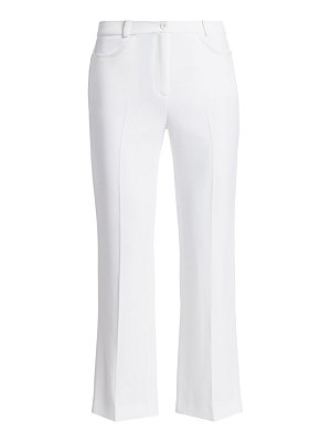 Michael Kors Collection sable cropped flare-leg pants