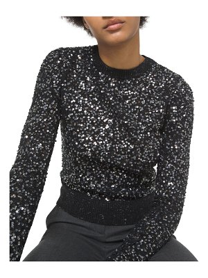 Michael Kors Collection Sequin-Embellished Knit Sweater