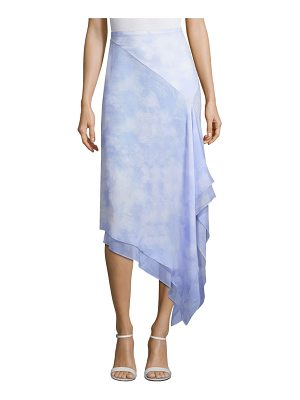 Michael Kors Collection silk chiffon skirt