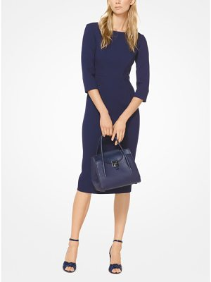 Michael Kors Collection Stretch Boucle-Crepe Sheath Dress