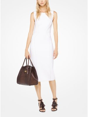 Michael Kors Collection Stretch-Boucle Sheath Dress