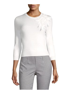 Michael Kors Collection stretch corsage pullover