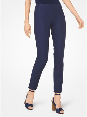 Michael Kors Collection Stretch Cotton-Broadcloth Trousers