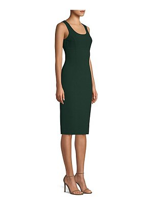 Michael Kors Collection stretch wool sheath dress