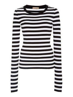 Michael Kors Collection striped jersey sweater