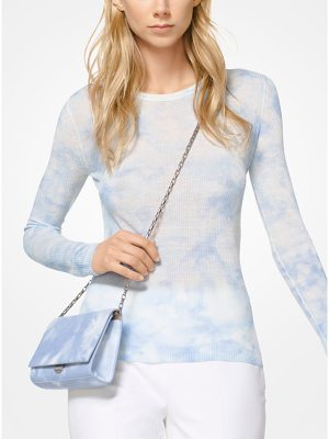 Michael Kors Collection Tie-Dye Viscose And Linen Pullover