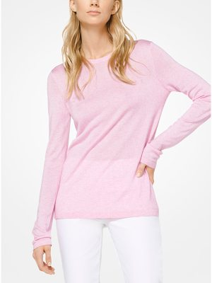 Michael Kors Collection Viscose And Cashmere Pullover