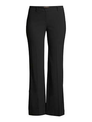 Michael Kors Collection wool cropped flare trousers