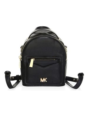 Michael Kors convertible leather backpack