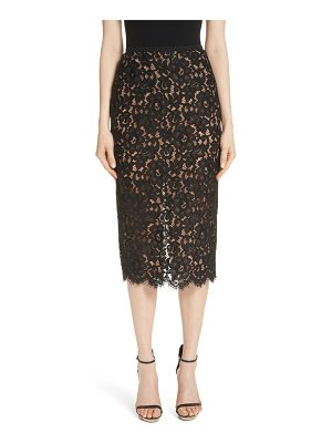 Michael Kors lace pencil skirt