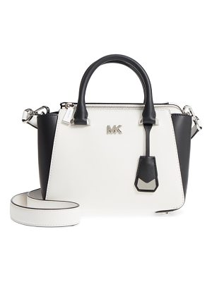 Michael Kors michael  mini leather messenger bag
