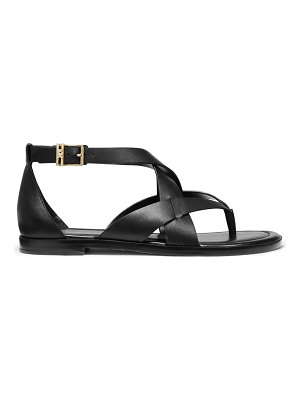 Michael Kors shaw leather thong sandals