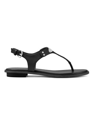Michael Kors slingback leather thong sandals