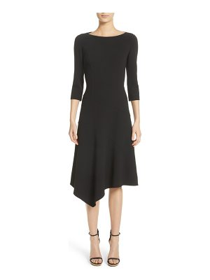 Michael Kors stretch wool asymmetrical dress