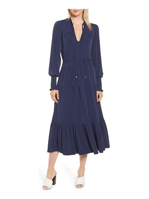 MICHAEL Michael Kors michael kors tie neck dress