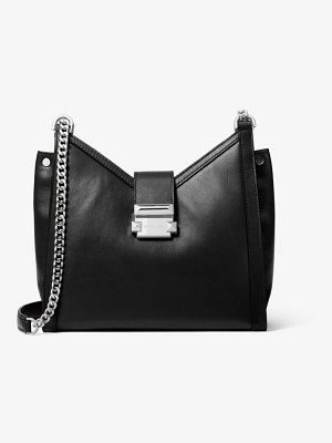 Michael Kors Whitney Small Leather Shoulder Bag