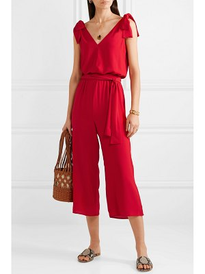 MICHAEL Michael Kors bow-detailed crepe jumpsuit