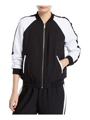 MICHAEL Michael Kors Colorblock Track Jacket