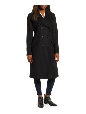 MICHAEL Michael Kors double breasted wool blend coat