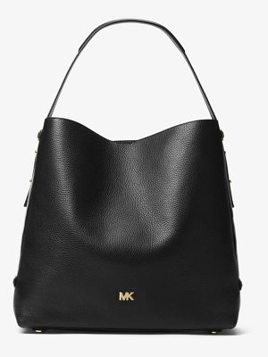 MICHAEL Michael Kors Griffin Large Leather Shoulder Bag