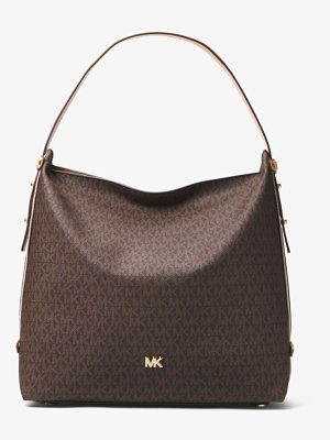 MICHAEL Michael Kors Griffin Large Logo Shoulder Bag