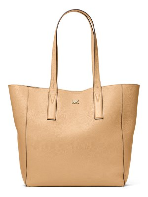 MICHAEL Michael Kors Junie Large Leather Shoulder Tote Bag