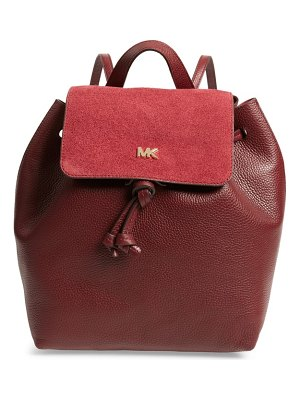 MICHAEL Michael Kors junie leather backpack