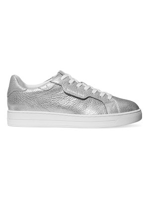 MICHAEL Michael Kors keating metallic leather sneakers